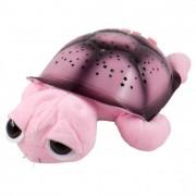 Világító zenélő teknős, rózsaszín