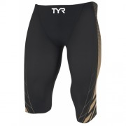 Costum baie competitie TYR Jammer AP12 Compression Speed Short Credere print
