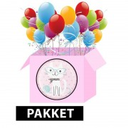 Merkloos Katten/poezen pakket voor themafeestje