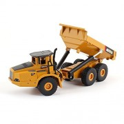 Blemay 1/50 Scale Diecast Roadwork Loader Truck Toy Metal Construction Equipment Bulldozer Models (Articulated Dump Trucks)