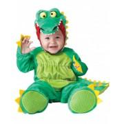 Disfraz cocodrilo para bebé-Lujo 0-6 meses (58-66 cm)