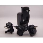 Incarcator USB x 4 la priza 110V- 220V pentru UK-USA-EU-ASIA maxim 2.4Ah