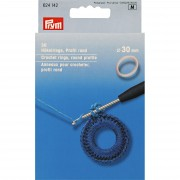 PRYM horgológyűrűk, 30mm, 624142