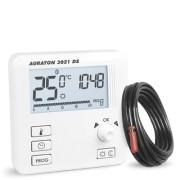 Termostat de pardoseala Auraton 3021 DS, 5 ani Garantie, 9 programe