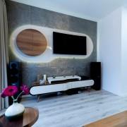 Ardezie Flexibila SKIN - Silver Shine 122 x 61 cm