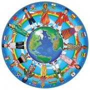 Puzzle Copii In Jurul Lumii Melissa And Doug 48 Piese