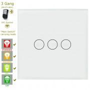 Сензорен ключ за осветление с дистанционно – 3 бутона (3 цвята)