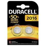 Baterii Duracell CR2016 3V litiu set 2 buc