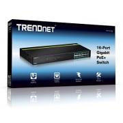 Trendnet TPE-TG160g 16-port GREENnet Gigabit PoE+ Switch (250W)
