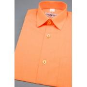 Chlapecká košile v pomerančové barvě 468-10-28/104