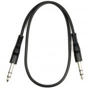 Adam Hall Cables 60 cm symmetrisches Patchkabel 6,3 mm Klinke stereo