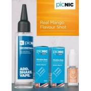 Lichid Tigara Electronica Premium Jac Vapour Real Mango 70ml, Nicotina 5,1mg/ml, 80%VG 20%PG, Fabricat in UK, Pachet DiY