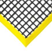 Černá olejivzdorná protiskluzová průmyslová univerzální rohož - 120 x 60 x 1,2 cm (80000880) FLOMAT