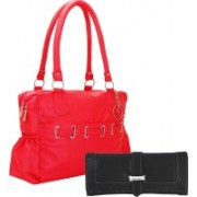 Lady bar Women Red, Black Messenger Bag