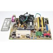 KIT PLACA DE BAZA ASUS P5LD2-SE , SOCKET 775 , 4x DDR2 , 4 X SATA , VGA , Pentium 4 , 3.2GHz