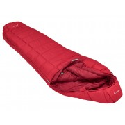 VAUDE Sioux 1000 SYN - dark indian red - Sacs de Couchage Synthetik left