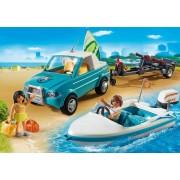 Playmobil Pick Up con Lancha