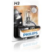 Bec auto cu halogen pentru proiector Philips Vision +30% H3 12V 55W PK22S , 1 buc. Kft Auto
