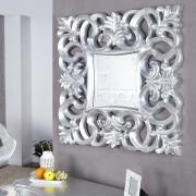 Oglinda decorativa Venice argintie