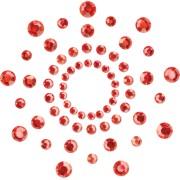 Copricapezzoli adesivi Bijoux Indiscrets Mimi Rosso