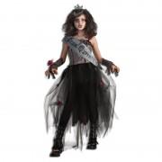 Costum de carnaval pentru fetite Regina Zombie, 5 ani+