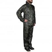 vidaXL Terno de chuva camuflagem XL
