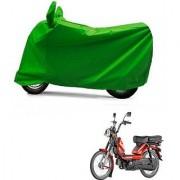 Intenzo Premium Full green Two Wheeler Cover for TVS Heavy Duty Super XL