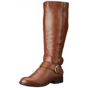 LifeStride Women s X-Must Riding Boot Cognac 5 B(M) US