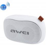 Awei Y900 Mini Portable Wireless Bluetooth Speaker Reducción De Ruido Micrófono, Soporte De Tarjeta TF / AUX (blanco)