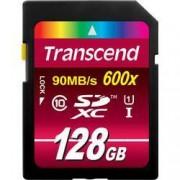 Transcend Paměťová karta SDXC, 128 GB, Transcend Ultimate TS128GSDXC10U1, Class 10, UHS-I