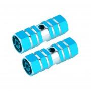 EH Pie De Aluminio Azul Columna