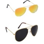 Amour-Propre Sports Sunglasses(Yellow, Black)