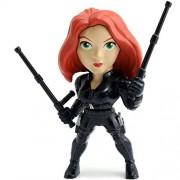 "Metals Jada Marvel Civil War Black Widow M48 Die Cast Figure, 4"""