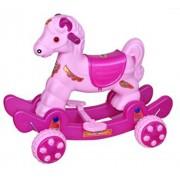 Babyjoys Musical baby Horse Rider Pink & Purple (Turbo)