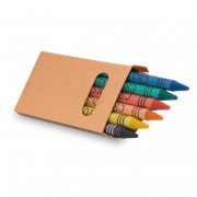 Caja con 6 lápices de cera EAGLE