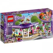 Конструктор Лего Френдс - Арт кафенето на Emma, LEGO Friends, 41336