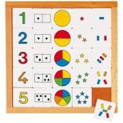 Joc educativ pentru gradinita Diagrama de la 1 la 5 Educo