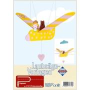 Pebaro - kit per traforo - principessa volante