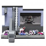 McFarlane Five Nights At Freddy's Scooping Room With Masked Ennard Medium Action Figure Set