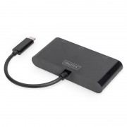 Digitus Adaptador USB-C a VGA/HDMI/DisplayPort