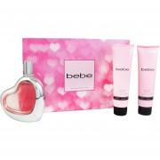 Set Bebe 3 Pzas 100 Ml Eau De Parfum + Body Lotion 100 Ml + Shower Gel 100 Ml De Bebe