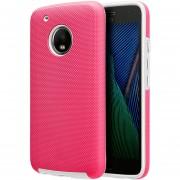 Funda Case Para Motorola Moto G5 Plus Protector Ezpress - Rosa