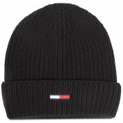Шапка TOMMY JEANS - Tjm Basic Flag Rib Beanie AM0AM05191 BDS