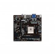 TARJETA MADRE ECS A320AM4-M3D AM4 2xDDR4 2xPCIe GIGALAN USB HDMI-NEGRO