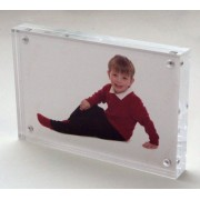 6x8 / 8x6 Acrylic block photo frame