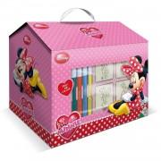 Multiprint kleurset Minnie Mouse 17-delig roze
