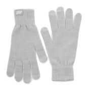 Gebreide handschoenen - grijs - S/M - Grijs