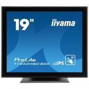 Monitor touchscreen iiyama ProLite T1932MSC, 19'', Projected Capacitive, 10 TP, negru
