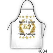 Boldog 50. szülinapot! 034 - Tréfás kötény