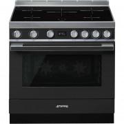 SMEG Cpf9ipan Cucina 90x60 5 Zone A Induzione Forno Elettrico Termoventilato 115